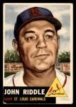 1953 Topps #274  John Riddle  Front Thumbnail