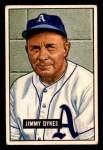 1951 Bowman #226  Jimmy Dykes  Front Thumbnail