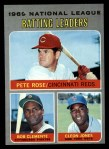 1970 Topps #61   -  Roberto Clemente / Cleon Jones / Pete Rose NL Batting Leaders Front Thumbnail