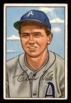 1952 Bowman #206  Elmer Valo  Front Thumbnail