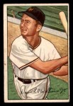1952 Bowman #178  Davey Williams  Front Thumbnail