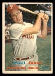 1957 Topps #174  Willie Jones  Front Thumbnail