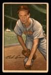 1952 Bowman #19  Bob Cain  Front Thumbnail