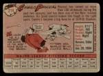 1958 Topps #219  Camilo Pascual  Back Thumbnail