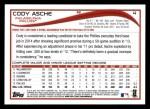 2014 Topps #4  Cody Asche  Back Thumbnail