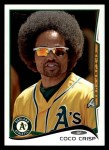 2014 Topps #8  Coco Crisp  Front Thumbnail