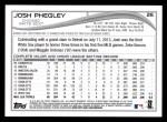2014 Topps #26  Josh Phegley  Back Thumbnail