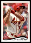 2014 Topps #44  Matt Carpenter  Front Thumbnail