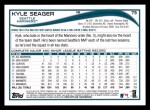 2014 Topps #73  Kyle Seager  Back Thumbnail