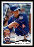 2014 Topps #86  Wilmer Flores  Front Thumbnail