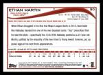 2014 Topps #90  Ethan Martin  Back Thumbnail