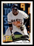 2014 Topps #91   -  Starling Marte Future Stars Front Thumbnail