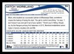 2014 Topps #94  Mitch Moreland  Back Thumbnail
