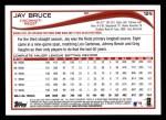 2014 Topps #124  Jay Bruce  Back Thumbnail