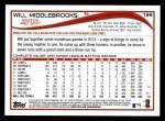 2014 Topps #136   -  Will Middlebrooks Future Stars Back Thumbnail