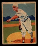 1935 Diamond Stars #23  Bill Hallahan   Front Thumbnail