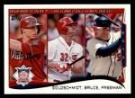 2014 Topps #143   -  Paul Goldschmidt / Jay Bruce / Freddie Freeman 2013 NL RBI Leaders Front Thumbnail