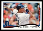 2014 Topps #149   -  Miguel Cabrera Checklist 3 - Baseball Highlights Front Thumbnail