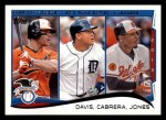 2014 Topps #153   -  Chris Davis / Miguel Cabrera / Adam Jones 2013 AL RBI Leaders Front Thumbnail