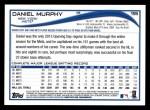 2014 Topps #155  Daniel Murphy  Back Thumbnail