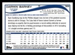 2014 Topps #183  Darwin Barney  Back Thumbnail