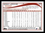 2014 Topps #189  Adam LaRoche  Back Thumbnail