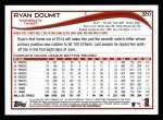 2014 Topps #220  Ryan Doumit  Back Thumbnail