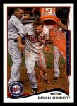 2014 Topps #221  Brian Dozier  Front Thumbnail