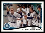 2014 Topps #224  Michael Saunders  Front Thumbnail