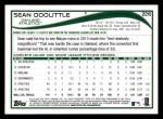 2014 Topps #226  Sean Doolittle  Back Thumbnail