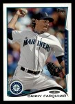 2014 Topps #244  Danny Farquhar  Front Thumbnail