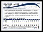 2014 Topps #246  Eduardo Nunez  Back Thumbnail