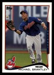2014 Topps #261  Michael Brantley  Front Thumbnail