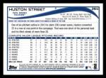2014 Topps #264  Huston Street  Back Thumbnail