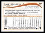 2014 Topps #267  Ryan Vogelsong  Back Thumbnail