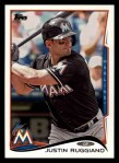 2014 Topps #271  Justin Ruggiano  Front Thumbnail
