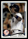 2014 Topps #276  Alfonso Soriano  Front Thumbnail