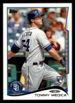 2014 Topps #278  Tommy Medica  Front Thumbnail