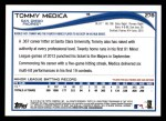 2014 Topps #278  Tommy Medica  Back Thumbnail