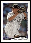 2014 Topps #282  Rex Brothers  Front Thumbnail