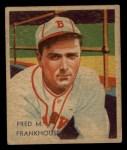 1935 Diamond Stars #62  Fred Frankhouse   Front Thumbnail