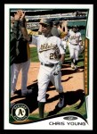 2014 Topps #311  Chris Young  Front Thumbnail