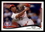 2014 Topps #312  Jimmy Rollins  Front Thumbnail