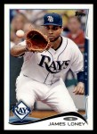 2014 Topps #328  James Loney  Front Thumbnail