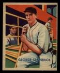 1935 Diamond Stars #52  George Tuck Stainback   Front Thumbnail