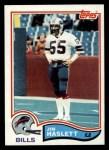 1982 Topps #29  Jim Haslett  Front Thumbnail
