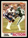 1982 Topps #31   -  Frank Lewis In Action Front Thumbnail