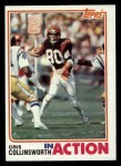 1982 Topps #45   -  Cris Collinsworth In Action Front Thumbnail