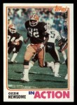 1982 Topps #68   -  Ozzie Newsome In Action Front Thumbnail