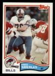 1982 Topps #35  Fred Smerlas  Front Thumbnail